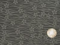 a03 帯裏 波桜(黒)正絹